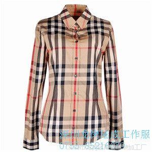 商务正装职业装长袖衬衫女纯色长袖女士衬衣批发