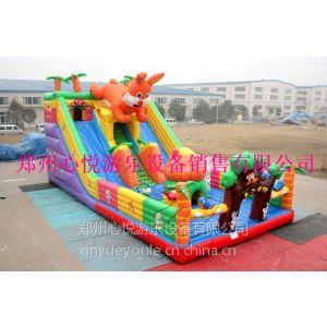 【图片】心悦儿童充气滑梯价格120平方新款熊出没城堡