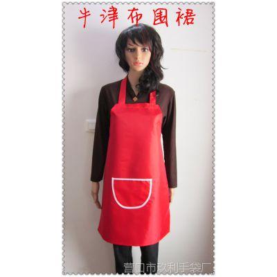 广告围裙  牛津布围裙   直角边设计   免费排版 加以LOGO