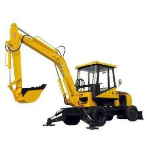 供应小型挖掘机 农用四轮拖拉机改装挖掘机