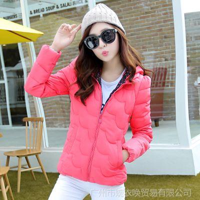 2014冬装新款女装 韩版修身羽绒服 时尚短装轻薄羽绒外套 批发
