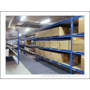 济南德嘉供应重型货架兰州 重力式货架抱焊梁仓储货架