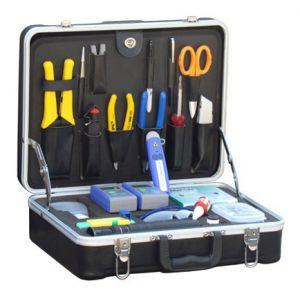 供应瑞徽通用型光纤测试与维护工具箱RE-6012,光纤测试工具箱,光纤维护工具箱,米勒钳CFS-2