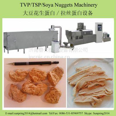供应春光机械 组织蛋白 拉丝蛋白生产线 豆类深加工素肉 人造肉设备 春光膨化机械
