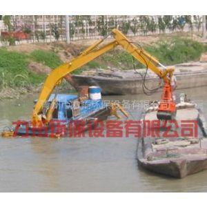 供应专业设计订造新型履带式水陆两用挖泥清淤船
