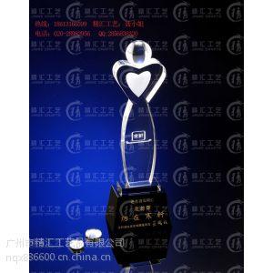 供应通信公司周年活动水晶奖杯定做、移动联通电信年终颁奖纪念品、集团公司周年活动水晶奖杯定做