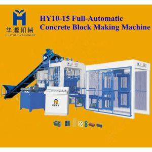 供应HY10-15 全自动液压砌块成型机 泉州免烧砖机 泉州水泥砖机