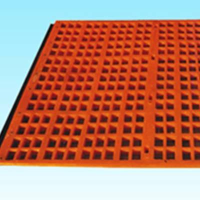 聚氨酯矿筛网_方孔_长孔_孔径3mm以上