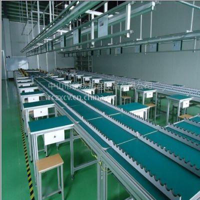 供应装配线、LED电子生产线、LED电子老化线、LED老化检测线、冰箱组装线检测线
