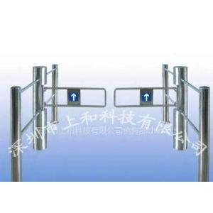 供应带护栏圆柱摆闸/感应出口摆闸