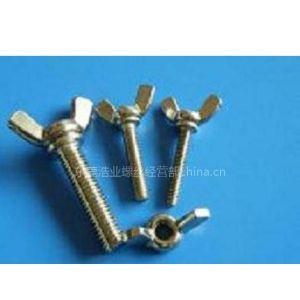 供应不锈钢蝶形螺丝|碟形螺栓|蝶形螺钉|手拧螺丝