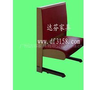 供应武汉餐厅卡座沙发达芬单边卡座沙发定制