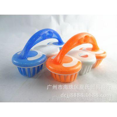 糖果色多功能洗衣刷 塑料手柄清洁刷批发 居家毛刷B-328