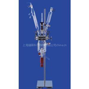 供应德国进口LENZ玻璃反应釜,实验室反应釜(双层夹套或单层,肖特DURAN玻璃)