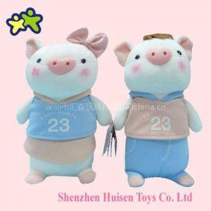 供应METOO咪兔品牌毛绒玩具莉莉猪公仔