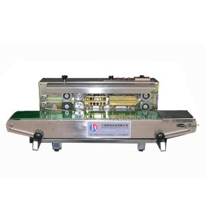 供应供应印字连续封口机 墨轮印字连续封口机械