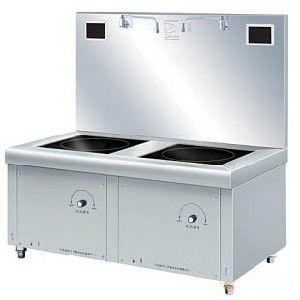 供应清远恒大厨具设备---商业专用电磁矮汤炉