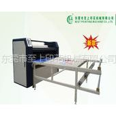 供应毯带式油温滚筒转移印花机,双工位烫画机