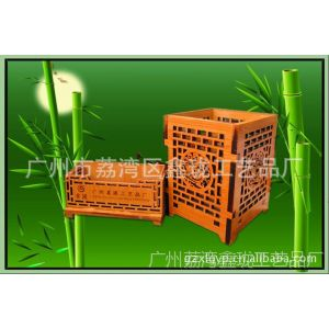 厂家直销激光雕刻镂空笔筒 名片盒 办公用品 优质竹木笔筒批发