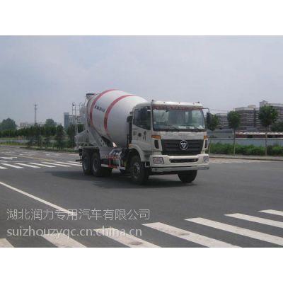 欧曼ETX SLA5253GJBBJ8型4.6方混凝土搅拌运输车
