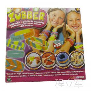 供应赛贝魔力新款彩泥 儿童DIY可佩带饰品 外贸库存玩具 特价批发
