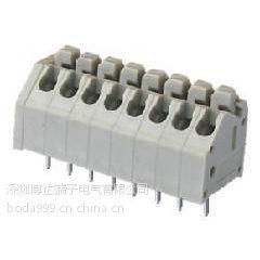 供应免螺丝自动压线式器接线端子、DG250灰色镇流器连接器、2.54间距接线端子