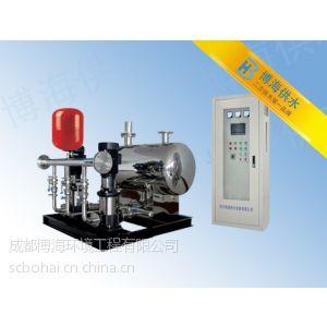 供应武汉二次供水设备 博海无负压供水设备不锈钢水箱配管价格