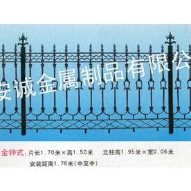 供应鹤岗铸铁围栏价格, 黑河铸铁栏杆价格, 绥化铸铁栅栏厂家