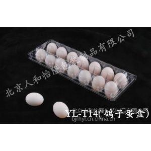 供应PVC代扣塑料透明 14枚鸽子蛋盒 鸽子蛋托