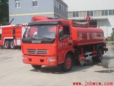 供应东风多利卡水罐消防车 社区消防车厂家价格