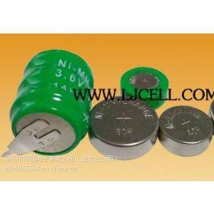 供应纽扣镍氢充电电池/扣式镍氢充电电池(80H 1.2V) 生产厂家直销