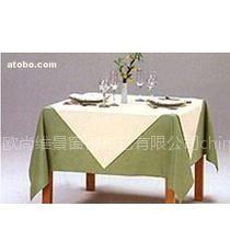 供应北京高档台布 口布 椅子套 床上用品 台呢定做