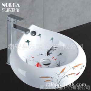 供应乐鹏卫浴家具新款卫浴柜微晶石玉石浴室柜组合厂家促销洗脸洗手盆