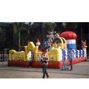 供应广州儿童乐园广州充气帐篷充气广告制作气垫城堡
