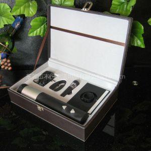 供应干电池电动开瓶器 红酒创意礼品 葡萄酒专业器具 红酒工具套装