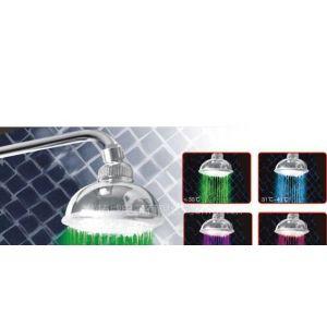 供应LED顶喷花洒自发电发光花洒