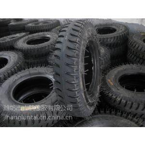 供应供应吉航橡胶LUG羊角花纹4.00-8农用橡胶拖拉机轮胎