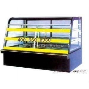 供应大理石蛋糕展示柜,天津面包冷藏柜,2米面包展示柜