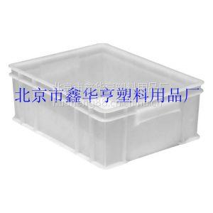 供应北京市鑫华亨塑料用品厂家塑料周转箱、糕点箱、塑料箱4号箱