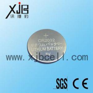 供应CR2032纽扣电池,2032带脚电池