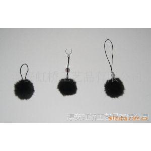批发供应饰品毛毛球挂件 绒球摆件 时尚饰品毛毛球手机挂件