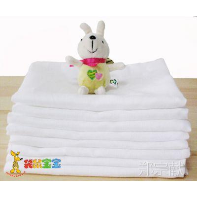 袋鼠宝宝婴儿全棉双层纱布尿片60*50CM DS5203 5片装