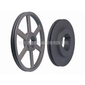 供应SPZ现货欧标锥套皮带轮,三角皮带轮