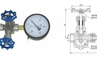 供应J19W-320P不锈钢压力表三通阀