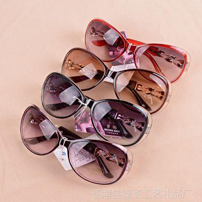 A2522 2811女款潮超轻复古墨镜时尚反光蛤蟆彩色多款色太阳镜