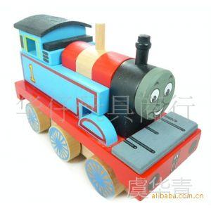 供应托马斯火车/磁性可拆装大号托马斯车头/木制玩具火车
