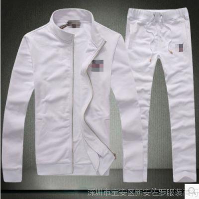 2014年秋冬装新款 男式精品休闲套装 男士经典时尚运动套装 L家
