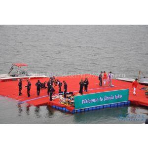 供应水上运动平台 水上舞台 水上步道