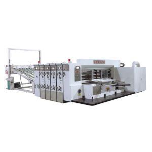 供应PLKM前缘送纸印刷开槽模切机