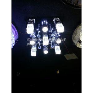 供应现代简约LED水晶灯 客厅灯卧室灯餐厅灯 书房灯吸顶灯饰